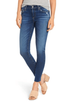 AG The Legging Raw Hem Ankle Skinny Jean 14990 vs 225
